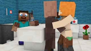 Villager Love story  →  Villager Baby (Minecraft Animation)