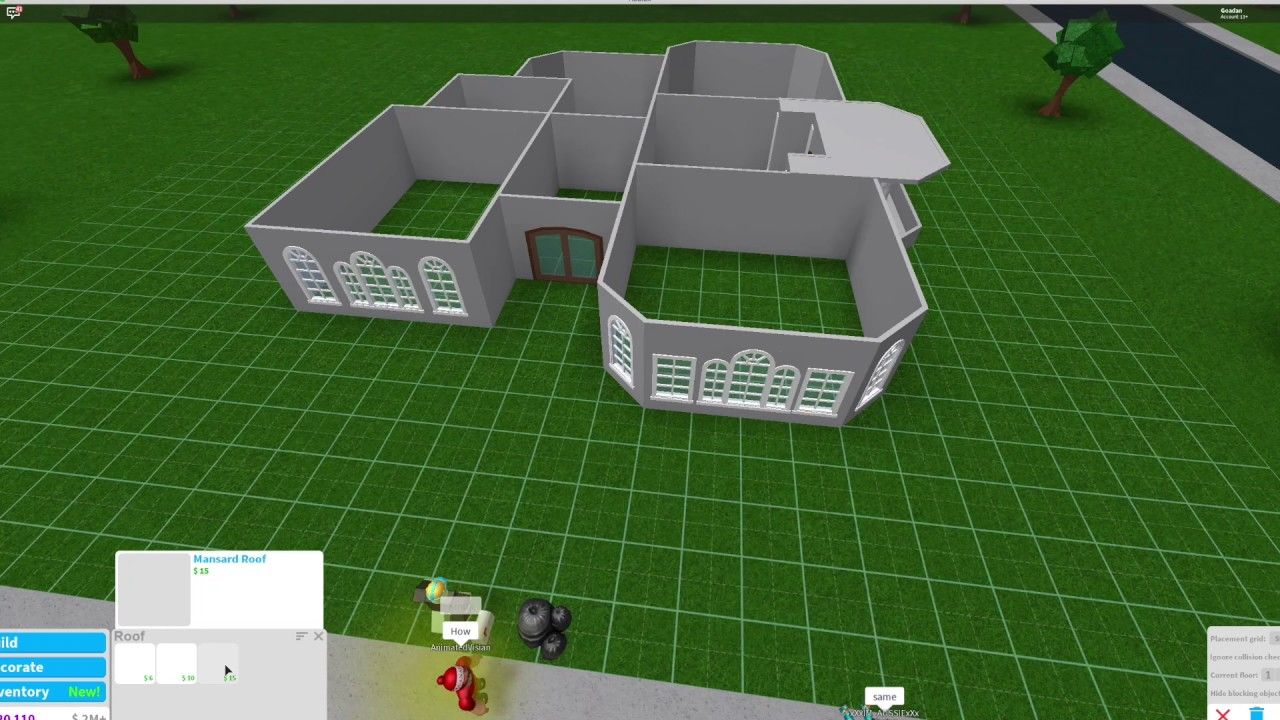 Bloxburg Small One Story House Youtube