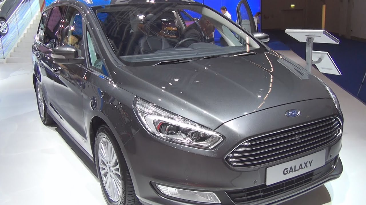 ford galaxy titanium 2 0 tdci 132 awd at 2016 exterior and interior in 3d youtube. Black Bedroom Furniture Sets. Home Design Ideas