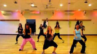 """Boomerang"" Pitbull and Akon Dance Fitness with Medora.MOV"