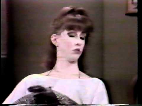 Laraine Newman Late Night with David Letterman 1983