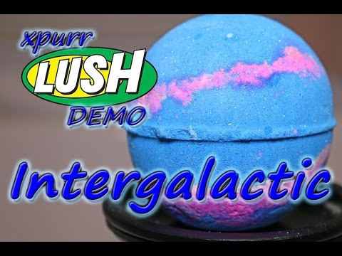 Thumbnail: LUSH - Intergalactic Bath Bomb - Demo - Underwater - Review