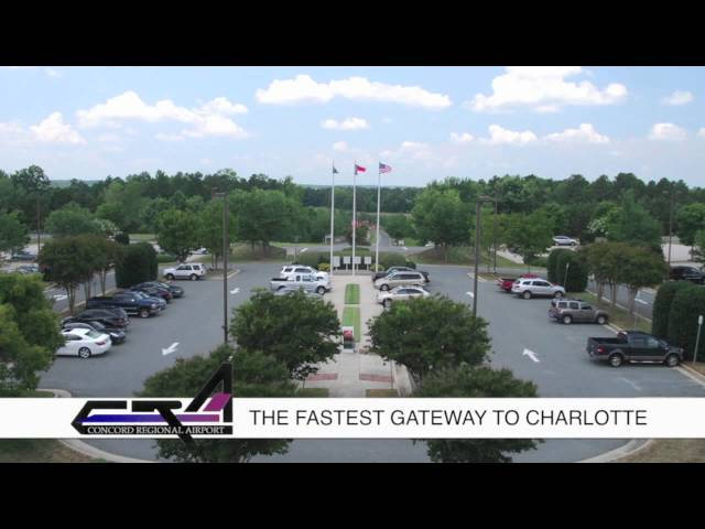 Concord Regional Airport, your Fastest Gateway into Charlotte