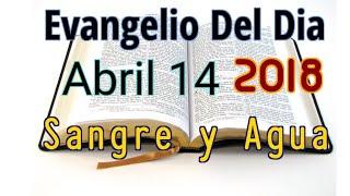 Evangelio del Dia- Sabado 14 Abril 2018- Sangre y Agua