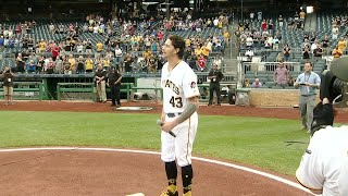Web Extra: Pirates Pitcher Steven Brault Sings National Anthem
