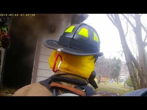 Advance Fire Dept. live burn. March 18th 2017.