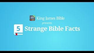 King James Bible (KJV) Free: 5 Strange Bible Facts screenshot 2
