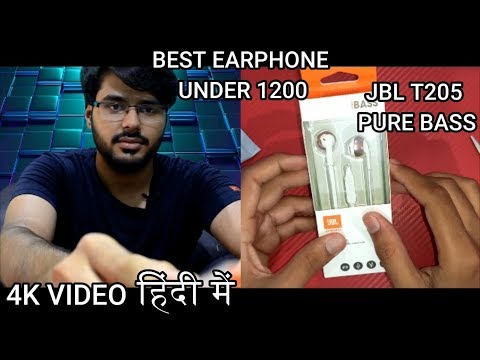 jbl-t205-pure-bass-|-best-earphone-under-1200-|-apple-like-tip-(without-earbuds)-|-unboxing-#-12