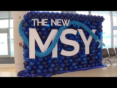 The New MSY | A 45-Minute Tour Of New Orleans' Beautiful New Terminal