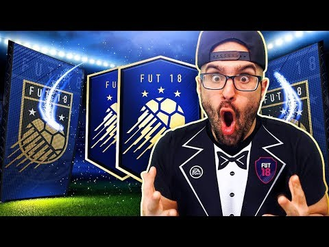 TEAM OF THE YEAR 100K PACK! *TEAM UPGRADE* FIFA 18 Ultimate Team Road To Fut Champions #107 RTG