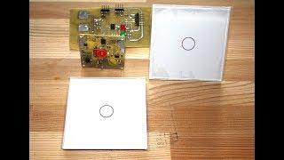 Сенсорные переключатели для умного дома.
