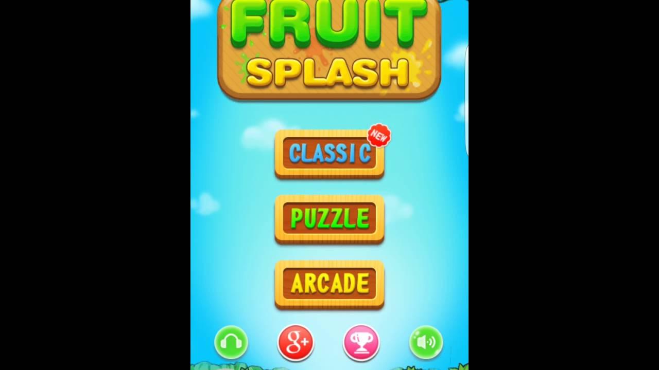 Fruit splash classic - Game Fruit Splash
