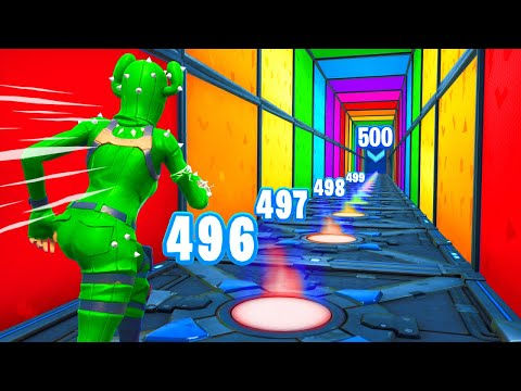 500 Level Default Deathrun vs Bot YouTuber...