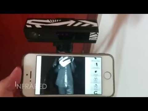 Kinect v2 Viewer permite utilizar Microsoft Kinect con iPhone