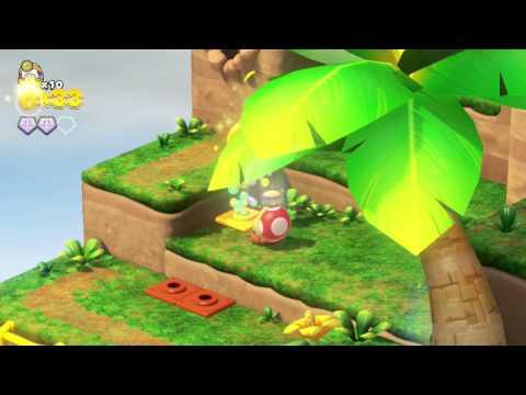 Captain Toad: Treasure Tracker - Part 1 - Playthrough/Gameplay - Longplay - (Nintendo Wii U) HD