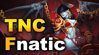 Fnatic vs TNC - 3-22 Starladder I-League SEA Dota 2