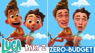 LUCA Part 2 With ZERO BUDGET! Disney Pixar Luca MOVIE PARODY By KJAR Crew!