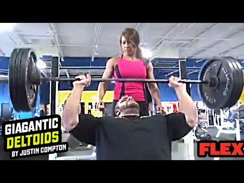 Justin Compton's GIANT Shoulder Workout For Massive Delts