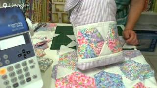 Patchwork Ao Vivo: como fazer uma bolsa com retalhos (scraps)