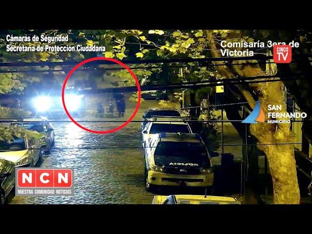 CINCO TV - Las cámaras de San Fernando permitieron detener a un hombre que robó dos bicicletas