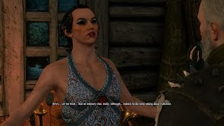 Let's Play The Witcher 3 Hard Mode Episode 56: Finding Dandelion, Cross Dressing Elf, Broken Flowers