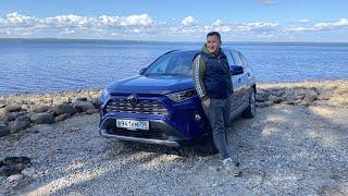 Большой тест-драйв Toyota Rav4 в Карелии