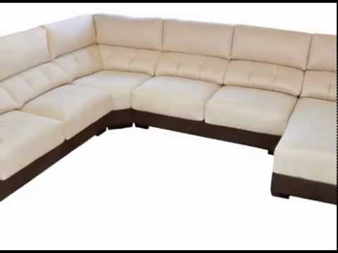 Sofas de esquina sillones y cheslons youtube for Divino sofas sillones