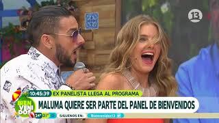 ¡Maluma enloqueció a todo el panel!   Bienvenidos