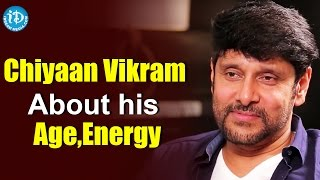 Chiyaan Vikram About his Age, Energy || Kollywood Talks With iDream || #irumugan