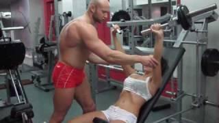 Тренировка мышц в зале - № 195. Бодибилдинг для девушек. Упражнения (среда)