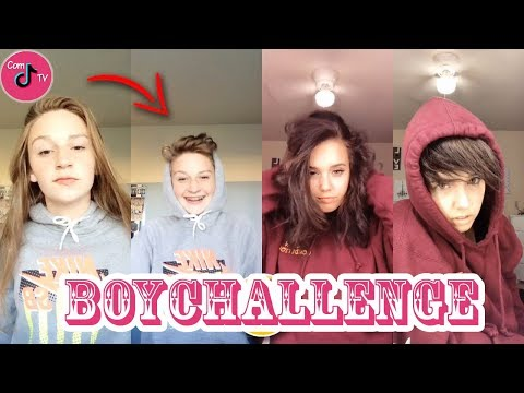 Girls Turns Into Boy Challenge TikTok Compilation 2018