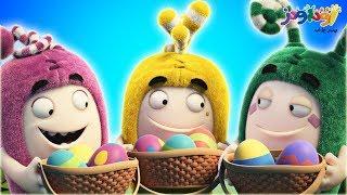 أودبودز   بيض عيد الفصح   كاريكاتير للأطفال