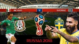 MEXICO vs SVERIGE | VM 2018 i Ryssland | Simulerad i FIFA 18