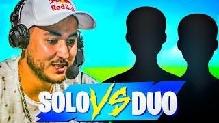DE RETOUR POUR TRYHARD LA SOLO VS DUOS !