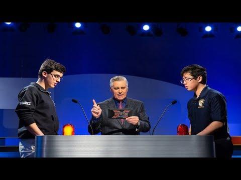 High School Quiz Show | Interstate Invitational Semifinal #1 | Massachusetts Vs. Rhode Island