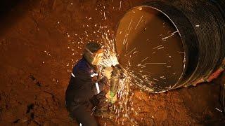 Огневые работы на газопроводе-отводе к ГРС