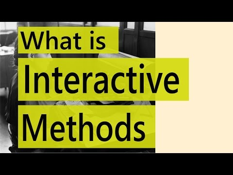 what is interactive methods | Interactive teaching styles |  Education Terminology || SimplyInfo.net