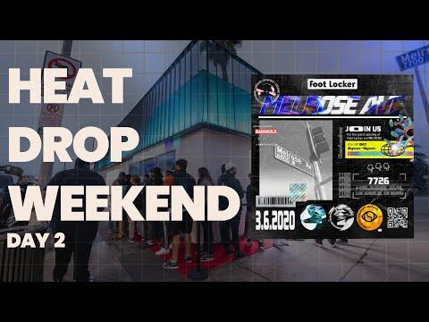 Foot Locker: Heat Drop Weekend