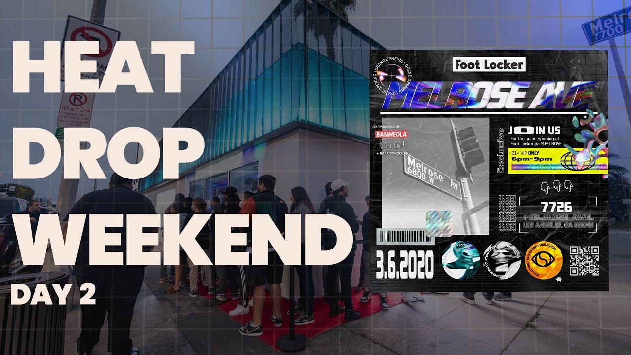 Foot Locker: Heat Drop Weekend Day 2