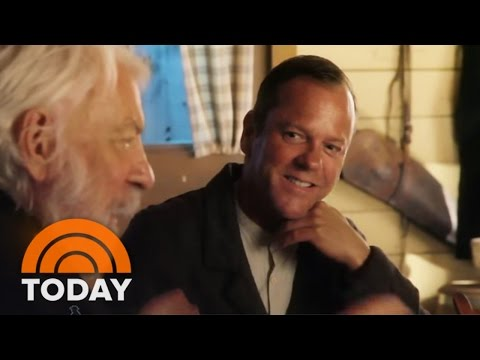 Kiefer, Donald Sutherland On Working Together For First Time