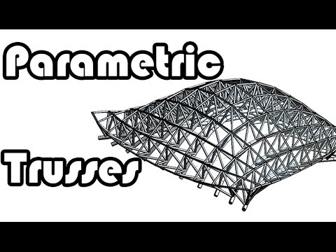Learn Revit In 5 Minutes Parametric Truss System Youtube