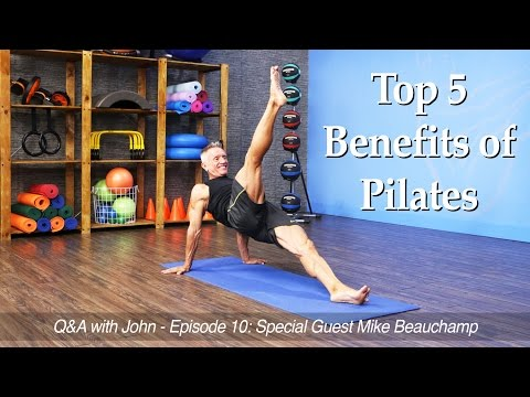 Q&A with John Episode 10: Top 5 Benefits of Pilates and a SPECIAL GIVEAWAY!