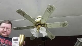 """Sierra Ceiling Fan (6 stencil blades 52"""")"""