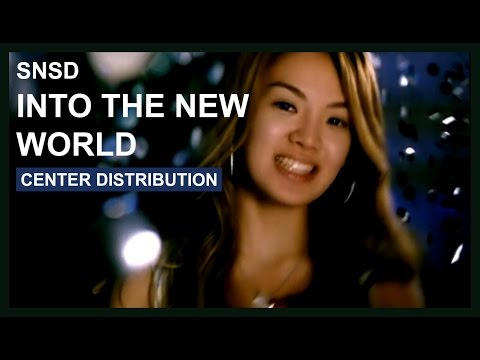 SNSD - Into The New World - Center Distribution