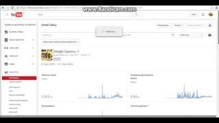 Youtube'dan Kazandığımız Paraya Bakma Ve Videolarımızı Silme!