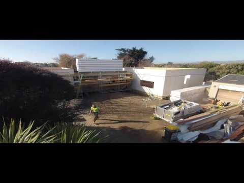 LiteGreen Concept House as seen on Grand Designs NZ Time Lapse