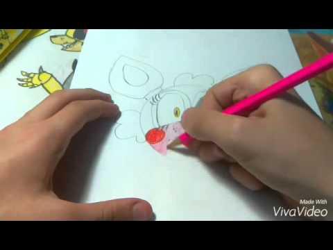 картинки для рисования фнаф