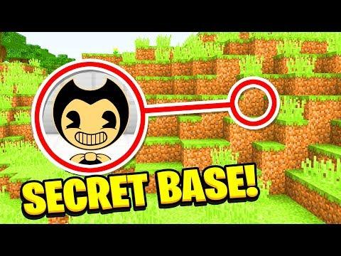 Minecraft : WE FOUND BENDYS SECRET BASE (Ps3/Xbox360/PS4/XboxOne/PE/MCPE)