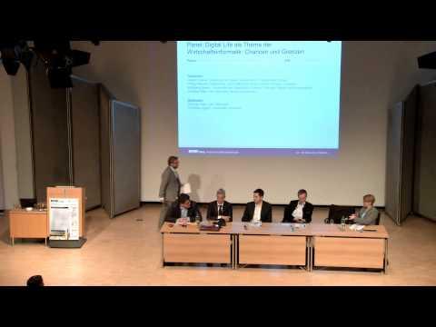 MKWI 2014: Panel Digital Life