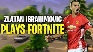 Zlatan Ibrahimovic PLAYS FORTNITE - Fortnite Battle Royale WTF & Funny Moments Episode. 153